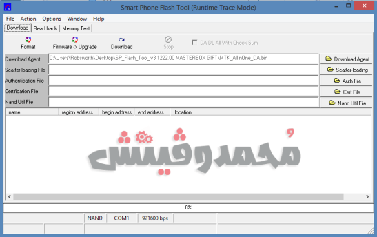 SP Flash Tool for Flashing ROMs on MTK Devices Mohamedovic