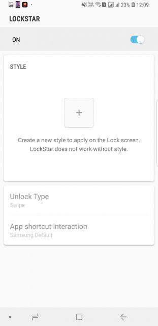 Samsung Good Lock 2018 LockStar App Mohamedovic 01