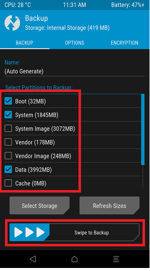 Backup System Partitions with TWRP Mohamedovic 02