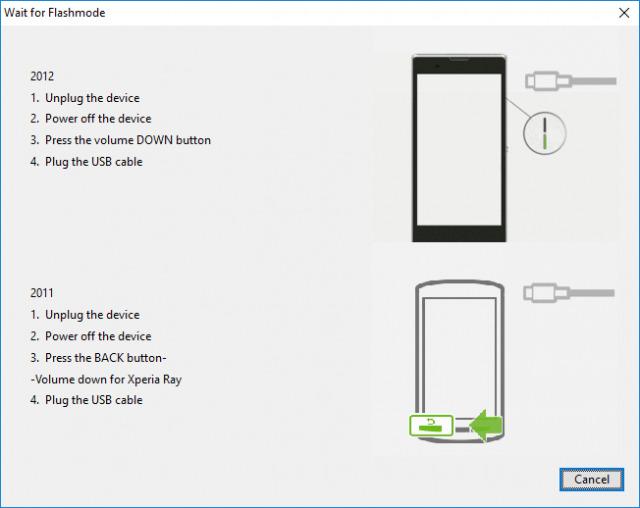 Flash Sony Xperia Firmware using FlashTool Mohamedovic 02