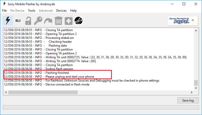 Flash Sony Xperia Firmware using FlashTool Mohamedovic 03
