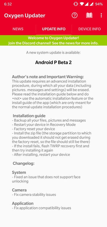 Instant OnePlus Firmware Updates with Oxygen Updater Mohamedovic 06