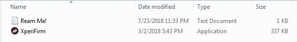 Sony XperiFirm FlashTool EXE Mohamedovic