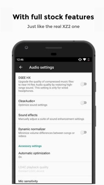 Sony Xperia XZ2 Sound System Mohamedovic 02