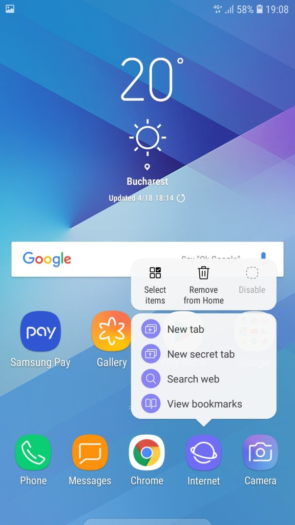 Galaxy J3 2017 J330F Official Android 8 Oreo Update 8