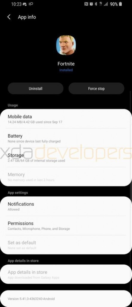 Galaxy S9 Plus Leaked Android Pie Update Mohamedovic 08