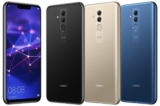 هاتف Huawei Mate 20 Lite متوفر بثلاثة ألوان