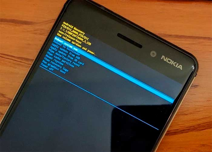 Install an official system update from recovery on Nokia phones