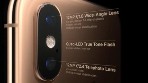 هاتف آيفون XS مع كاميرا جديدة كليًا