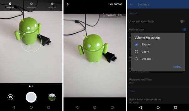 كاميرا Google Pixel على هاتف Poco F1