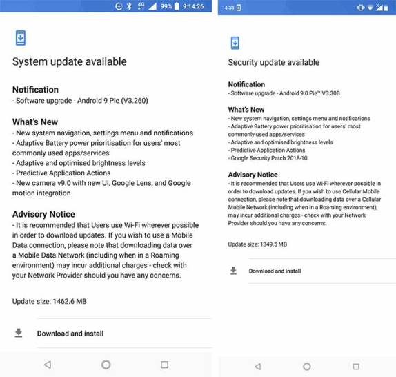Android Pie Official Firmware update for Nokia 6.1 Plus Mohamedovic