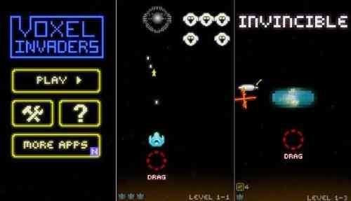 لعبة Voxel Invaders