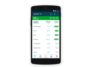 YNAB for Android