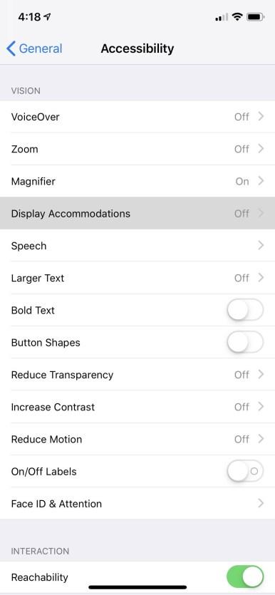 Enable-iPhone-Xs-Dark Mode-Setting-Mohamedovic-01
