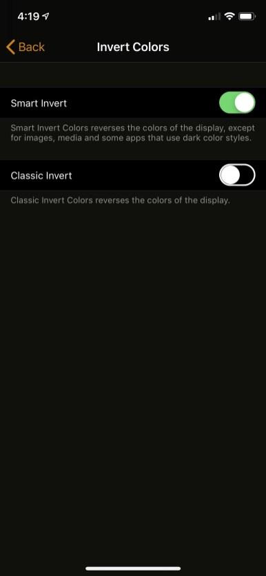Enable-iPhone-Xs-Dark Mode-Setting-Mohamedovic-03