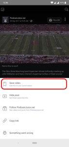 شرح كيفية تحميل فيديوهات الفيسبوك على جهازك الاندرويد مباشرةً 1