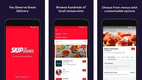 تطبيق سكيب ذا ديشز لطلبات الطعام الامريكية على الاندرويد