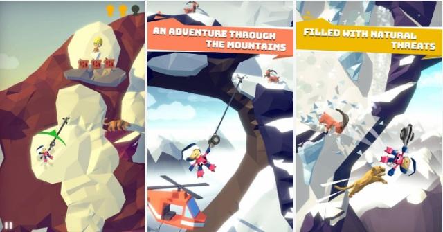 لعبة تسلق الجبال apk للاندرويد