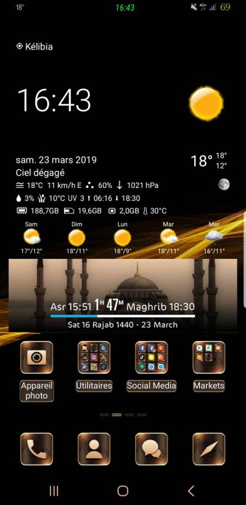 Samsung Android Pie Themes 01