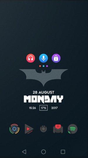 ثيم باتمان نوفا لانشر
