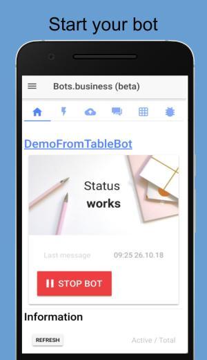 تطبيق Bots.Business أحد تطبيقات التليجرام