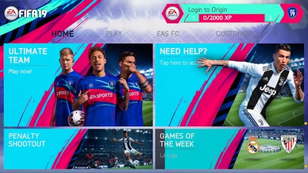 Download Fifa 19 for Android 02