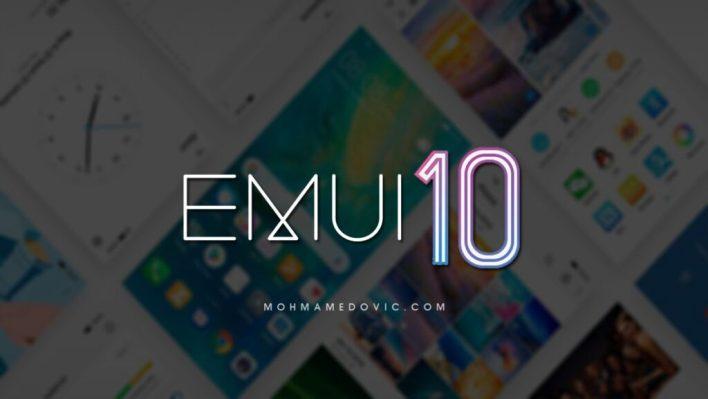 Huawei's EMUI 10 update