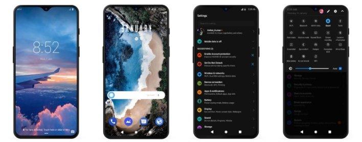 ثيم G-Pix من نظام Android Q