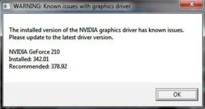 NVidia Driver