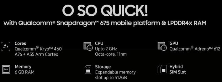 Galaxy M40 with Snapdragon 675