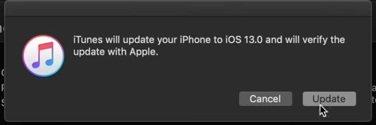 Install iOS 13 via iTunes 06