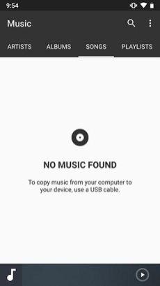 LineageOS-16-Music-App