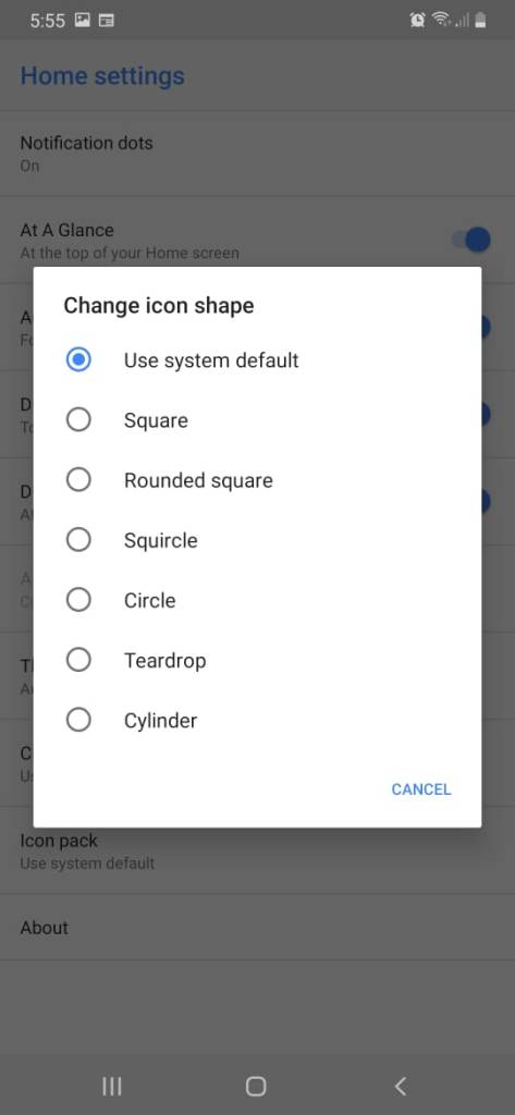 Android Q Pixel Launcher Mohamedovic 04
