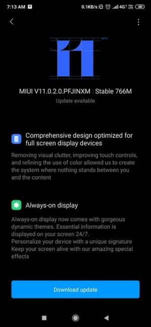 Redmi K20 MIUI 11 Based Android 10 Firmware