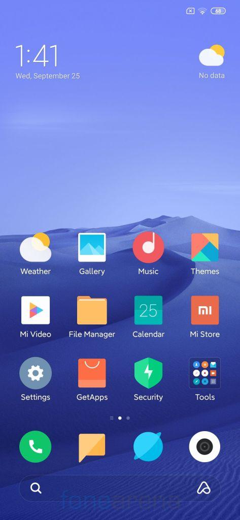 Redmi Note 7 Pro MIUI 11 Firmware Update 01