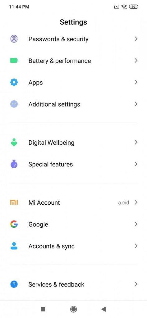 Redmi Note 5 Pro MIUI 11 Firmware Update Mohamedovic 9