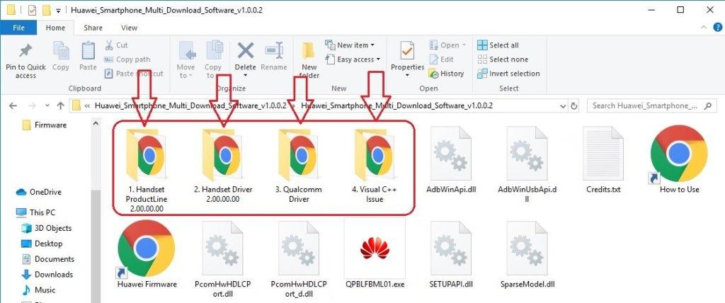 Using Huawei Multi Download Tool 02