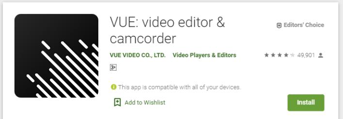 تطبيق فيو لتعديل وتقطيع الفيديو على الاندرويد