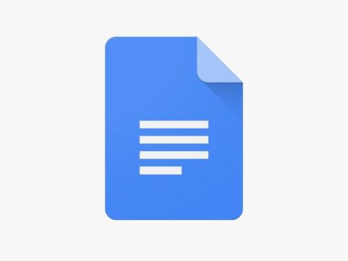 تطبيق Google Docs