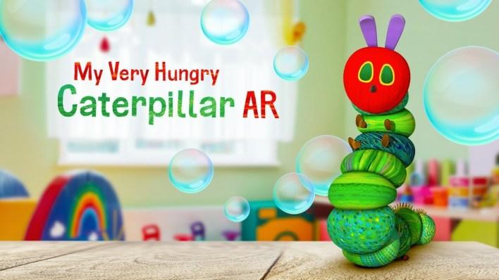 تطبيق My Very Hungry Caterpillar أحد ألعاب تعليمية للأطفال