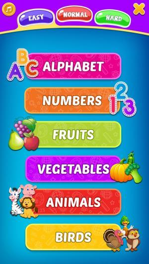 """Picture Match, Memory Games for Kids - Brain Game"" أحد الألعاب التعليمية"