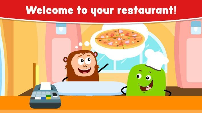 Cooking Games For Kids and Toddlers أحد الألعاب التعليمية