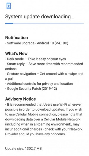 Android 10 update for Nokia 6.1 Plus