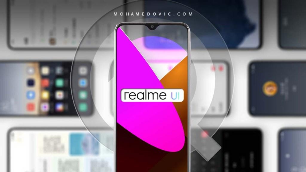 تحديث Realme UI اندرويد 10