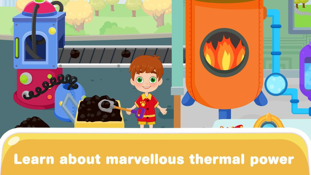 Science Town:Kids Electricity STEM Learning Games
