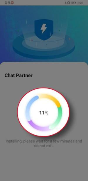 تشغيل متجر تطبيقات جوجل Chat Partner لهواتف هواوي