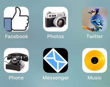 إنشاء أيقونة التطبيقات على الشاشة الرئيسية من خلال Bookmarks
