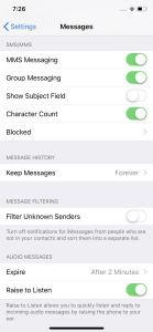 الرسائل النصية Messages1