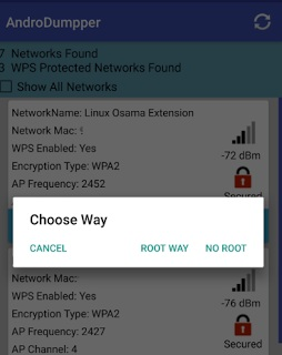 Try Connect AndroDumpper