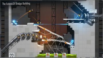 لعبة Bridge Constructor Portal من ألعاب الذكاء للاندرويد